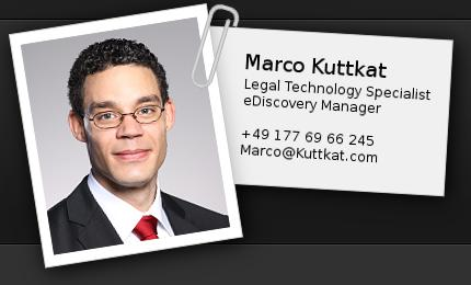 Application photo of Marco Kuttkat